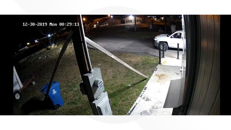 Rockport Burglary truck 2
