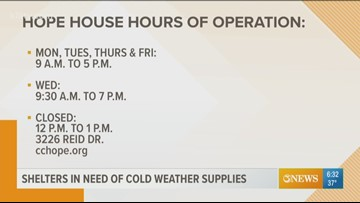 First Edition: Corpus Christi Hope House in need of warm clothing