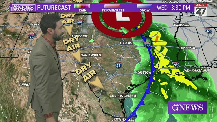 Alan Holt KIII South Texas Weather Forecast 10-22-2021