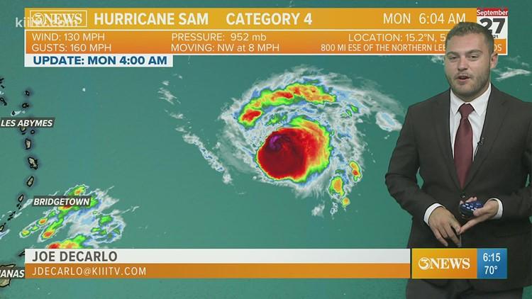 Joe DeCarlo Tropical Update 09-27-2021