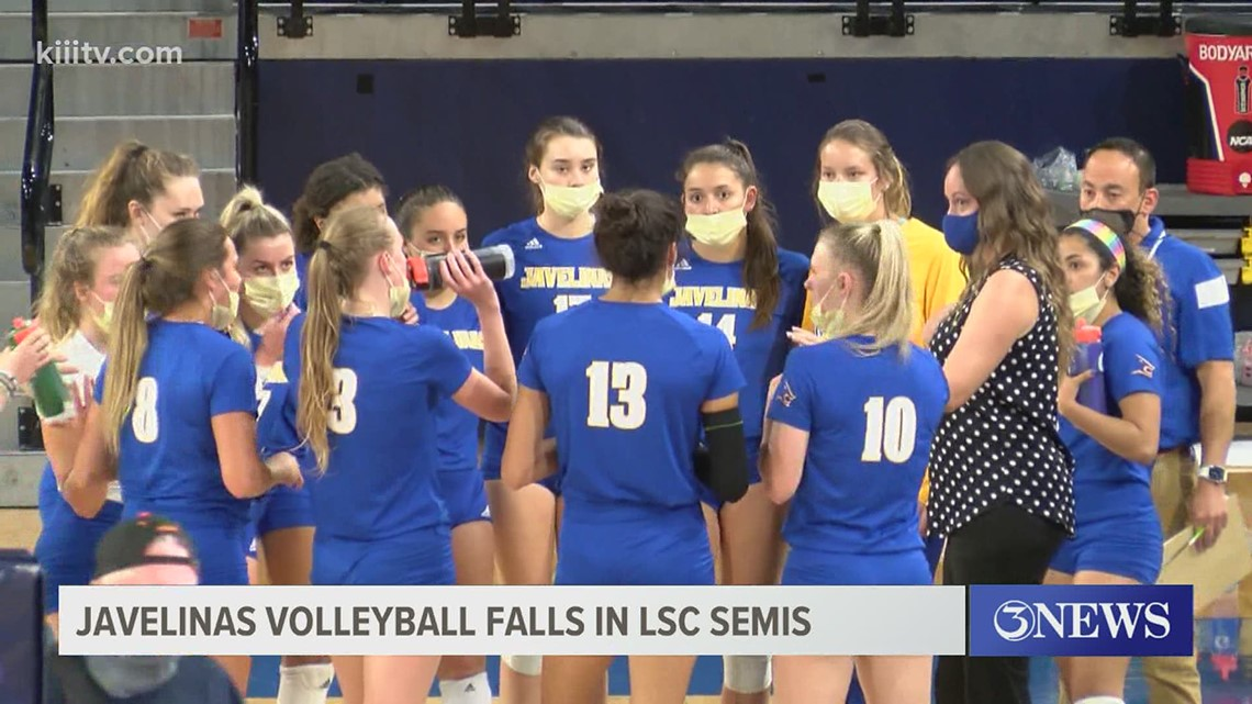 Javelinas' volleyball falls to Angelo State in Lone State Semis - 3Sports