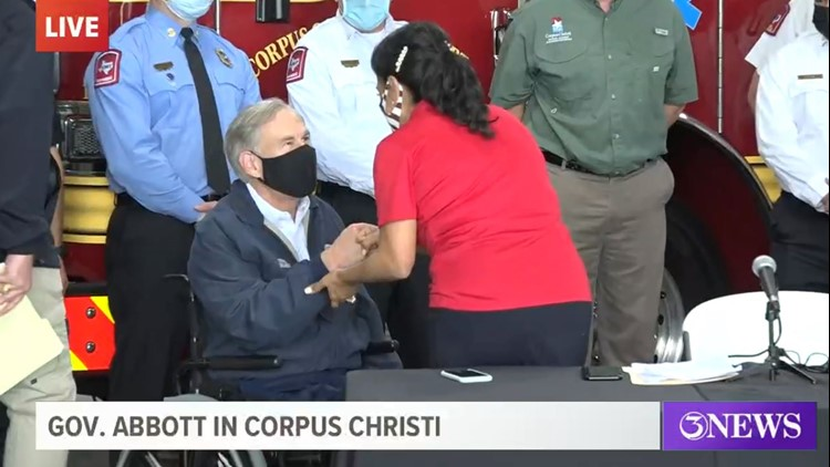 WATCH LIVE: Governor Abbott announces new statewide 'Save our Seniors' vaccine effort emulated from Corpus Christi's Fire Department's program
