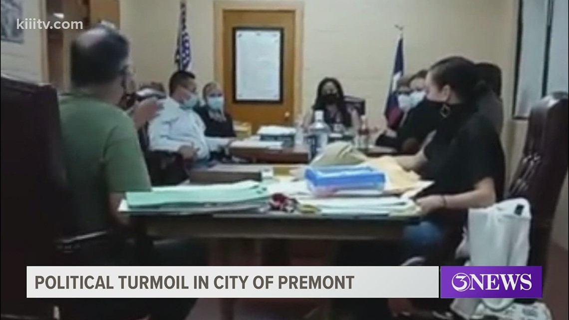 Political turmoil in the City of Premont as residents complain of various water leaks around town