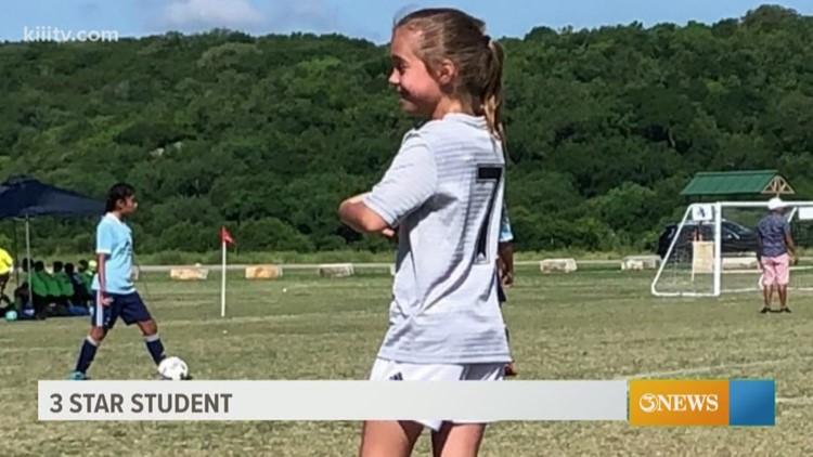 Three Star Student: Mazy Holt