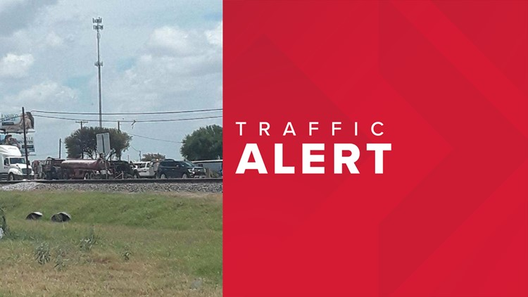 Map Of Texas Highway 77.18 Wheeler Crash In Driscoll Texas Halts Traffic On Highway 77