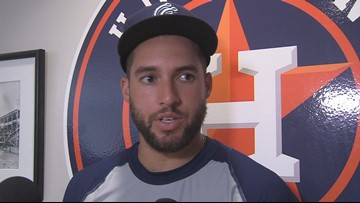 Springer plays in final rehab game with Hooks - 3Sports