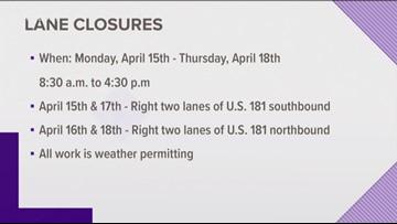 Lane closures this week during Harbor Bridge safety inspection