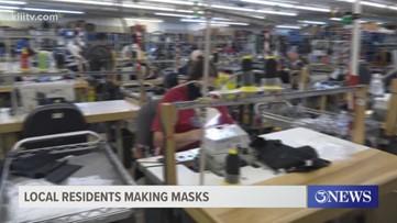 Local company making masks