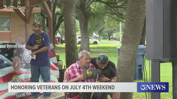 Premont Veterans Association holds Fourth of July celebration to honor local heroes