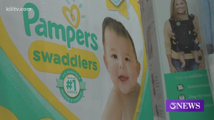 Local organization offers free baby products for new moms, supplies run out