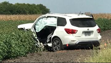 One man killed after near head-on crash