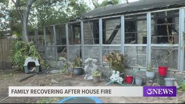 Corpus Christi family escapes Saturday night house fire