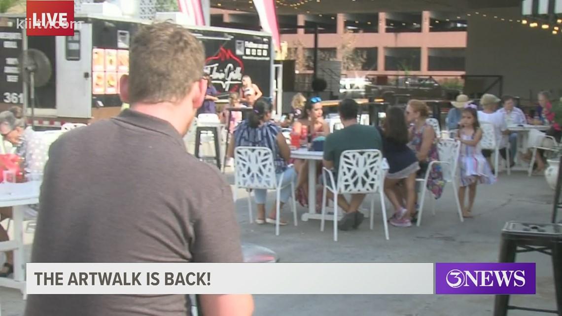 ArtWalk returns to downtown Corpus Christi