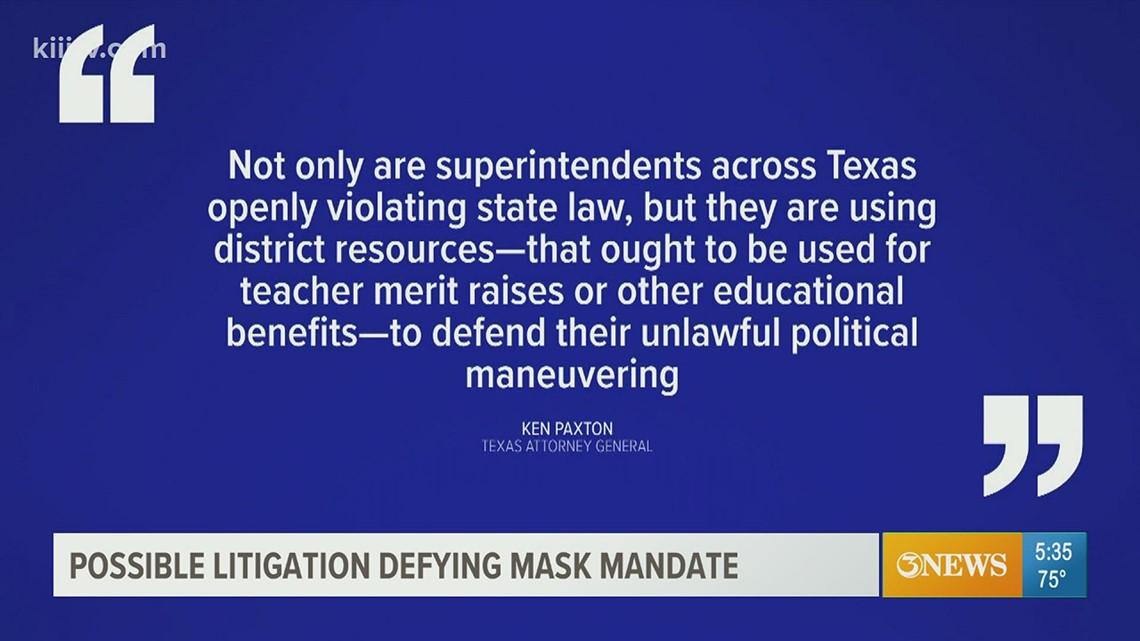 Coastal Bend attorney discusses Abbott's order on mask mandates