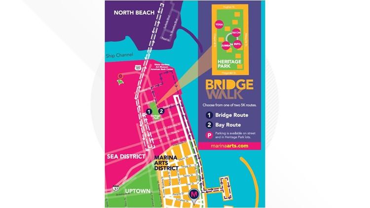 BridgeWalk Sponsored by H-E-B