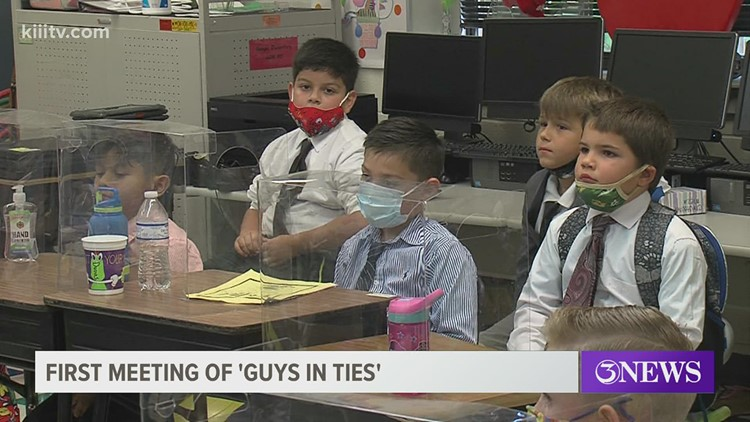 'Guys in Ties' at Menger Elementary hopes to raise new generation of gentlemen