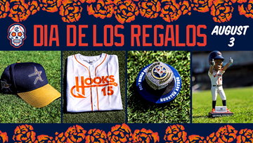Free premium item giveaway for all fans in attendance during August 3 Dia de los Hooks Weekend