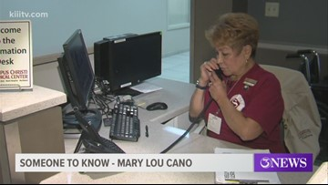 Someone to Know: Volunteer Mary Lou Cano