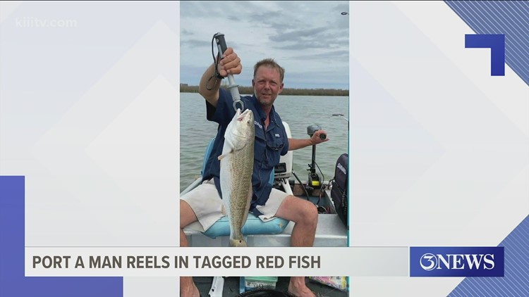 Man from Port Aransas reels in first tagged red fish in CCA tournament