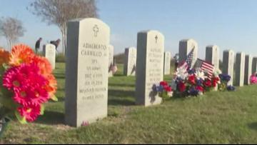 Coastal Bend State Veterans Cemetery cleaned up by volunteer groups