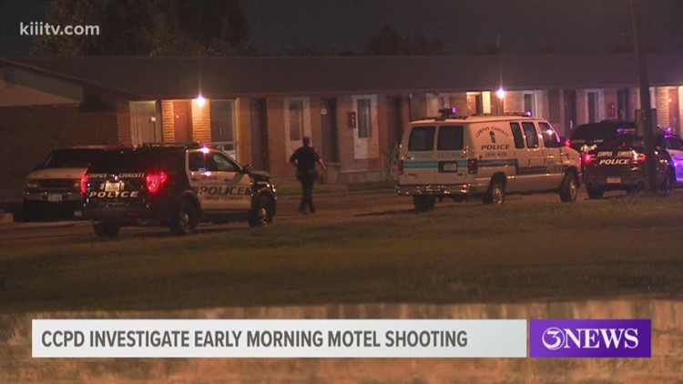 CCPD investigate Padre Motel shooting