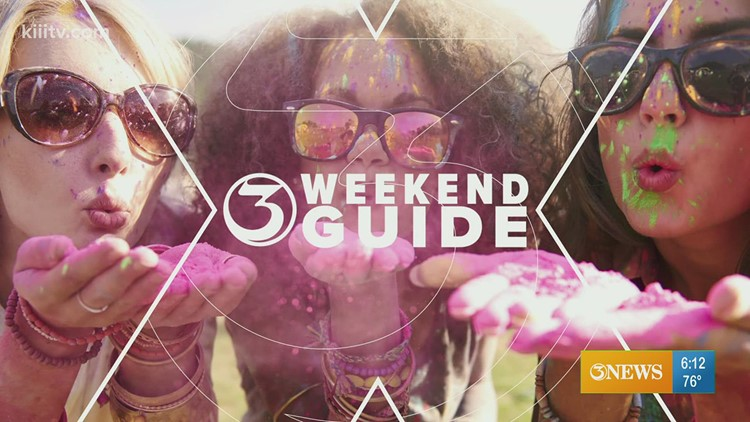 Weekend event guide for the Coastal Bend