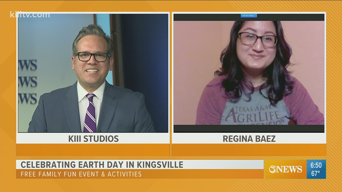 Earth Day activities in Kingsville