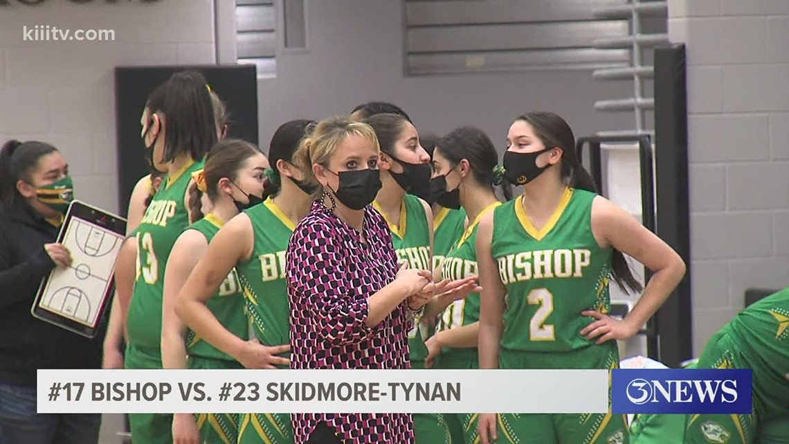 Bishop tops Skidmore-Tynan in double OT to advance to girls 3A State Semifinal - 3Sports
