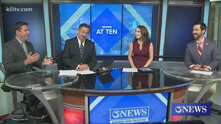 3News at 10 Reunites at Desk