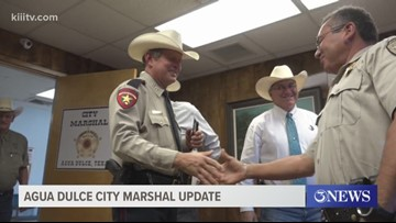 First Agua Dulce city marshal in 75 years making a difference in South Texas