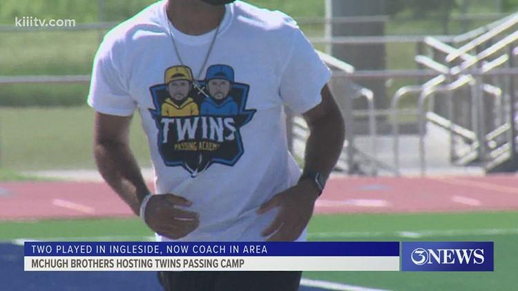 McHugh brothers talk TWINS Passing Academy - 3Sports