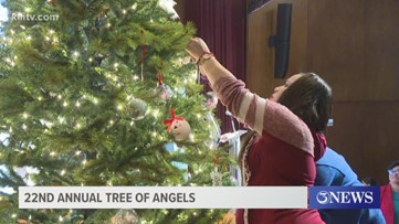 Families remember loved ones during Tree of Angels ceremony