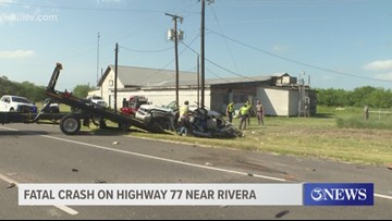 Two-year-old dead after fatal collision on Highway 77