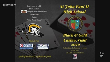 First Edition: Upcoming Casino Night to benefit John Paul II High School