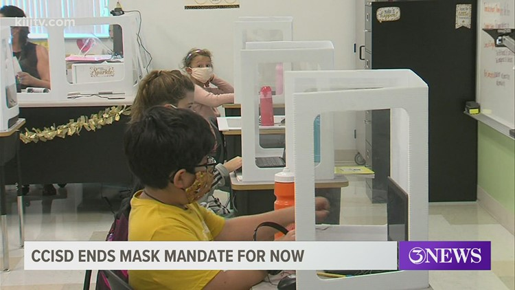 Corpus Christi ISD mask mandate ends today