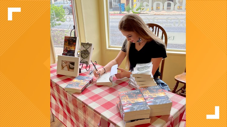 High school student from Beeville publishes second book, has first book signing