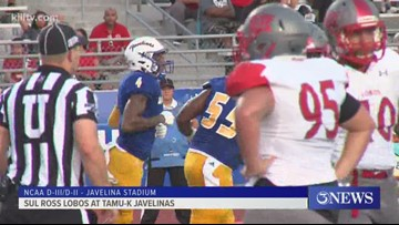 Javelinas dominate Sul Ross for first win of 2019 - 3Sports