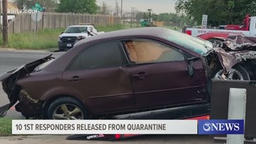 10 first responders released from quarantine