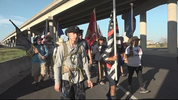 2nd Annual Texas Patriot Ruck March