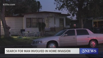 Police are searching for a male suspect involved in home invasion