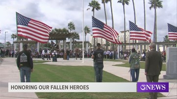 Memorial Day ceremony at Sherrill Park has been canceled