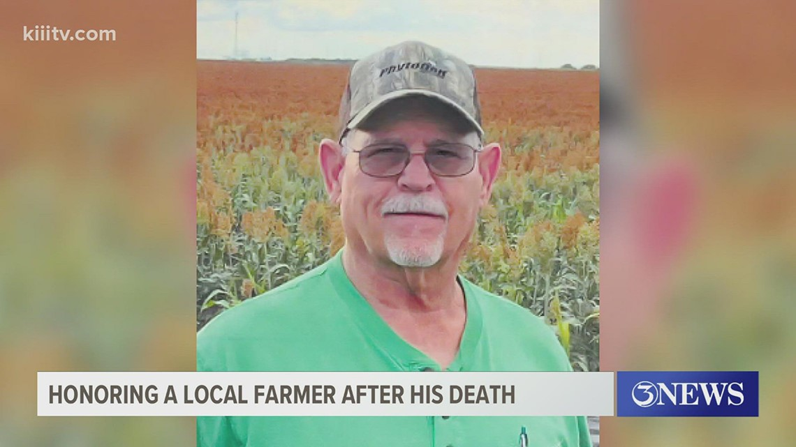 Bishop farmers honor fellow farmer who passed by saving his crops