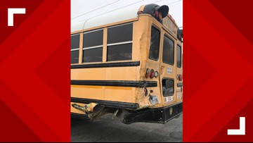 Ben Bolt-Palito Blanco ISD school bus involved in three-vehicle accident