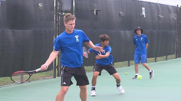 04-22-19 01 Islanders men's tennis Southland preview