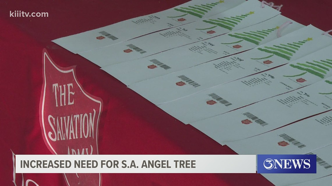 Salvation Army's Angel Tree program seeing increased demand this year due to COVID-19