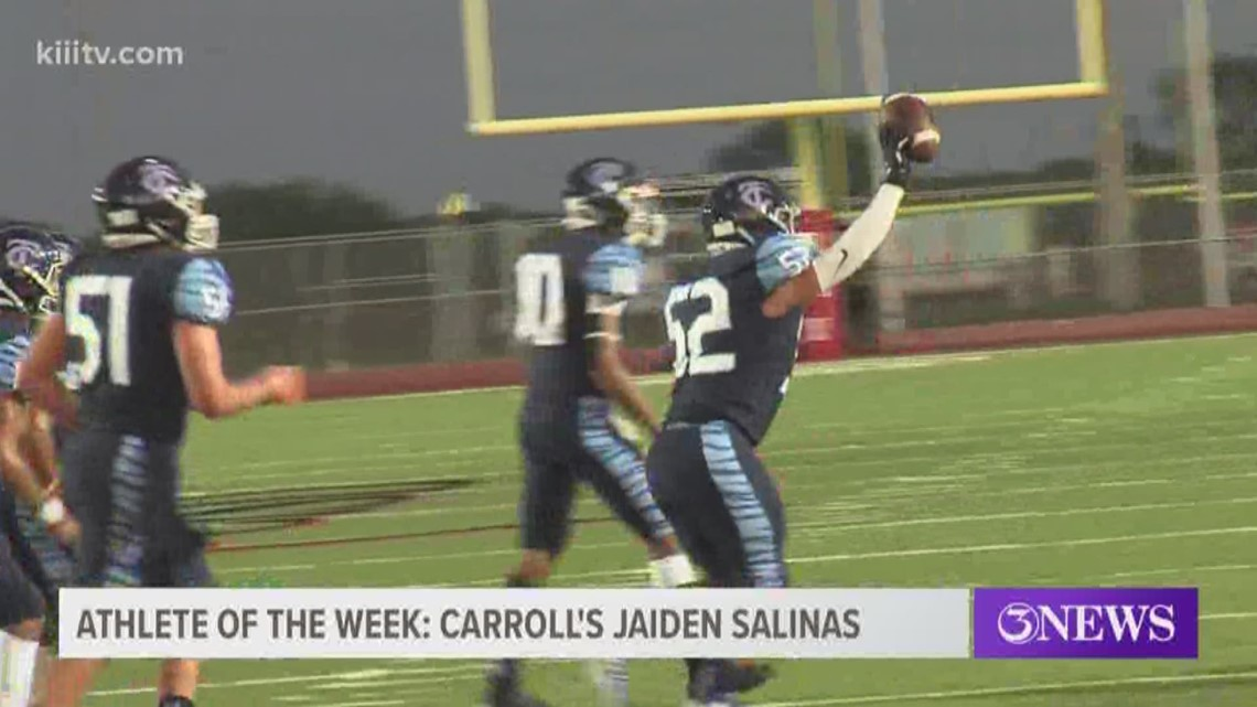 Athlete of the Week: Carroll's Jaiden Salinas - 3Sports