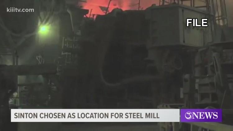 Steel Dynamics selects Sinton, Texas, location for new $1.7 billion steel mill