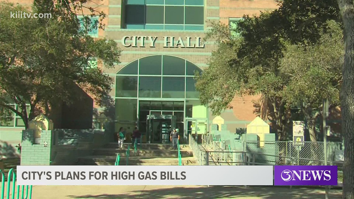 City of Corpus Christi announces gas relief program for residents suffering after winter storm