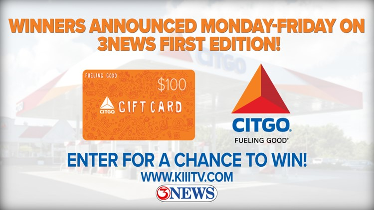 Register for your chance to win a $100 CITGO gas card