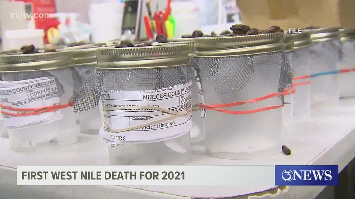 Health district reports first West Nile related death in Nueces County for 2021